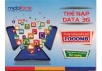 Thẻ Data 3G Mobifone 20.000đ