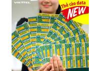 Thẻ Data 3G Viettel 100.000đ